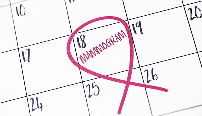 New guidelines for when to start mammograms