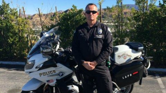 Rare surgery helps LAPD motorcycle officer with rare injury