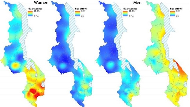 Mapping HIV in sub-Saharan Africa reveals patterns | UCLA Health Connect