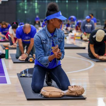 Massive CPR Palooza trains community members on life-saving technique