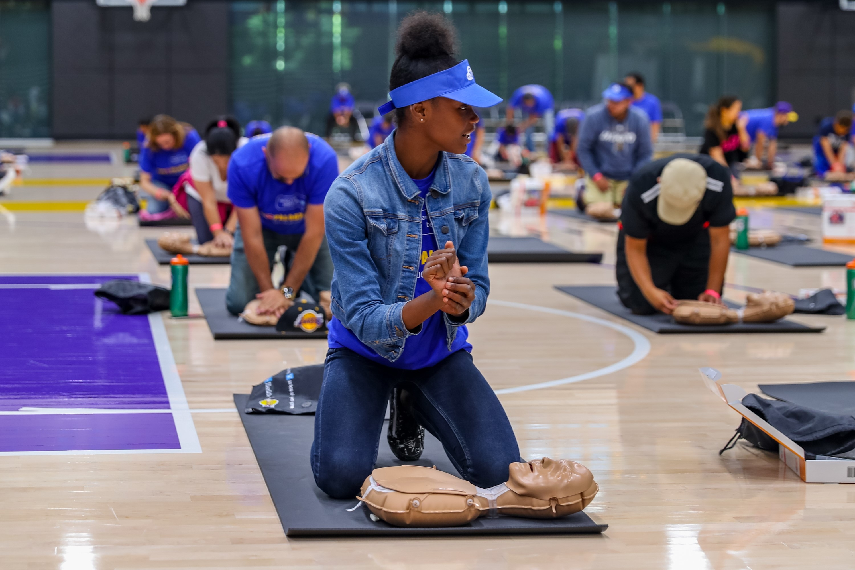 Massive CPR Palooza trains community members on life-saving technique