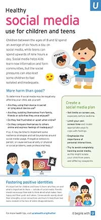 Health Tips for Parents August 2018 Infographic