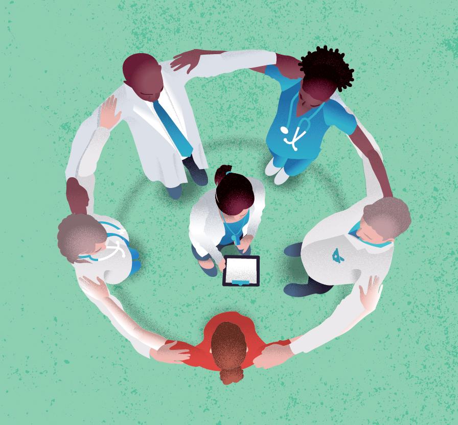 Teamwork benefits patients in health care