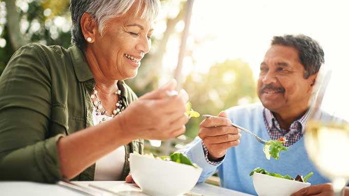 Role of Nutrition in Healthy Aging