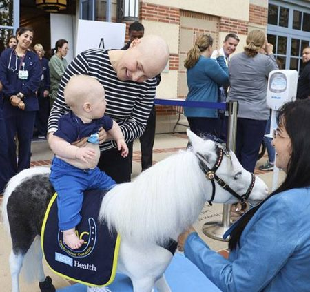 Patient gets memorable send-off from therapy horse - patient stories