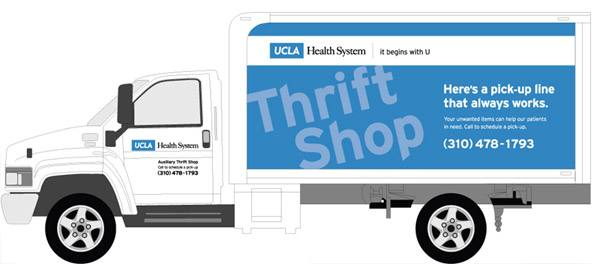 UCLA Health Auxiliary Thrift Shop (Donation Truck)