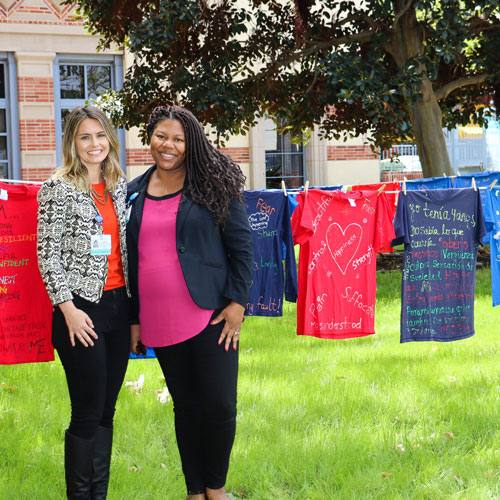 Rape Treatment Center sponsors Clothesline Project