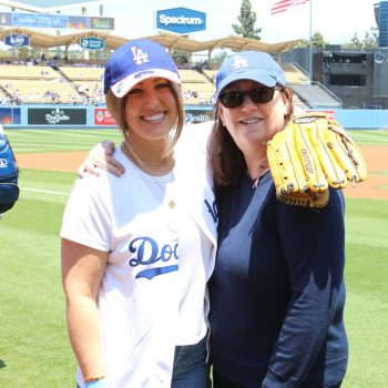 The Real MVP: Dodgers Recognize Bruin Breast Cancer Survivor