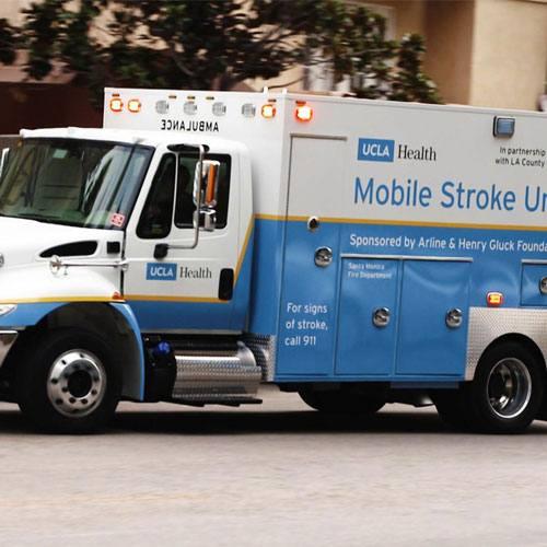 UCLA Health Mobile Stroke Unit