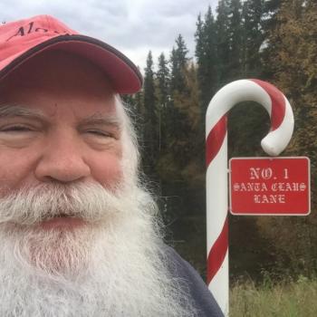 Santa Visits Dr. Livhits