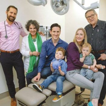 An extended family trusts one physician for primary care