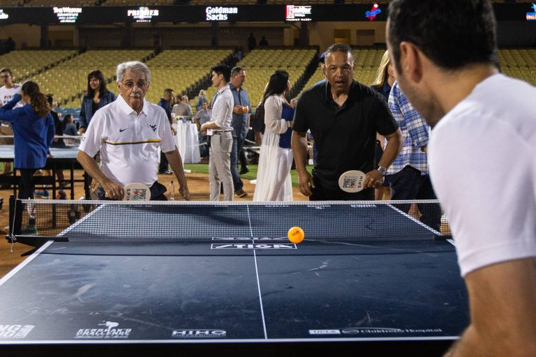 Clayton Kershaw and Cody Bellinger win Ping Pong 4 Purpose fundraiser to support kids at UCLA Mattel Children's Hospital