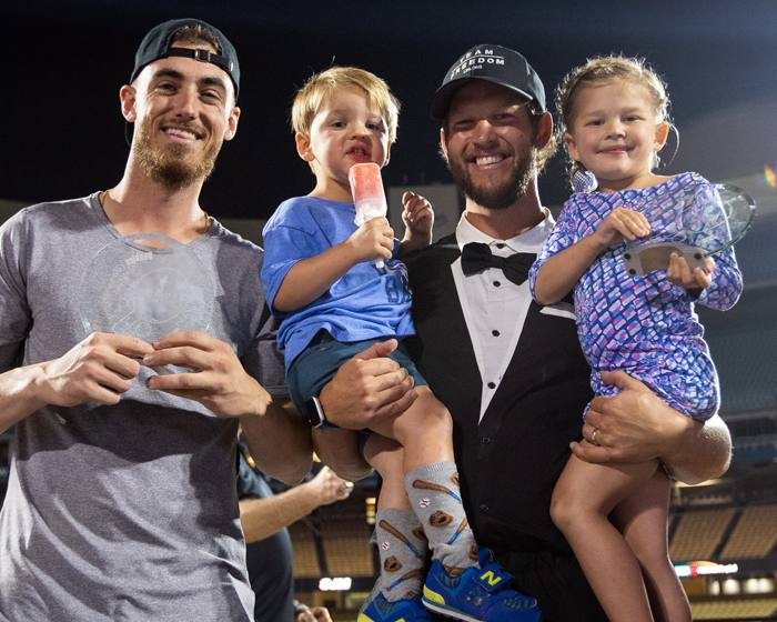 Clayton Kershaw and Cody Bellinger Win One for Our Kids!