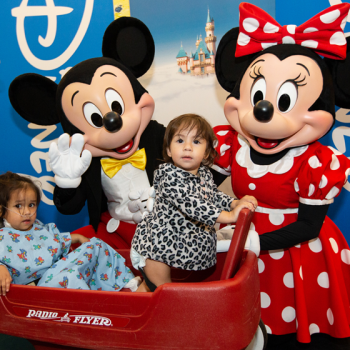 Mickey and Minnie Surprise Headliner for a Fun-Filled Afternoon at UCLA Mattel Children's Hospital