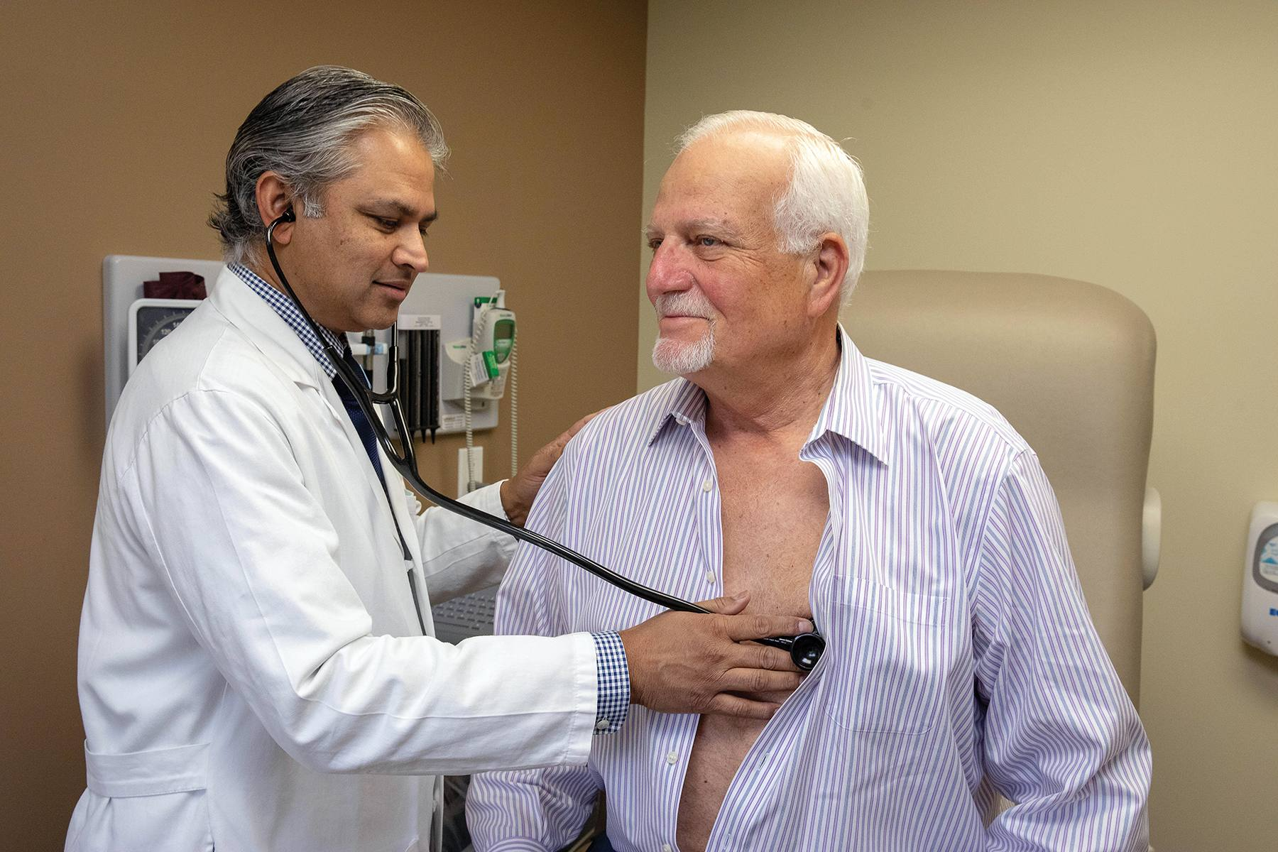Hospitalist care provided relief to complex patient