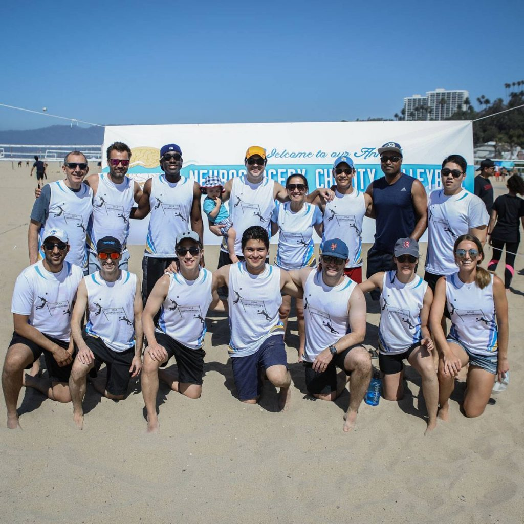 second annual UCLA Neurosurgery Charity Beach Volleyball Tournament