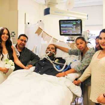 Thankful for Love:  Intensive Care Unit Wedding Ceremony Brings Joy to Grieving Family