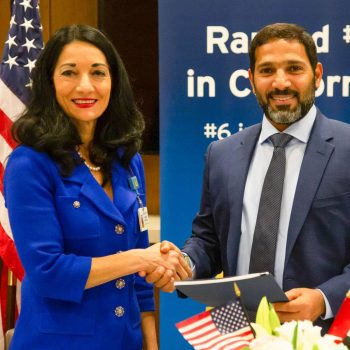 UCLA Health signs formal agreement to provide complex medical care to patients from the United Arab Emirates