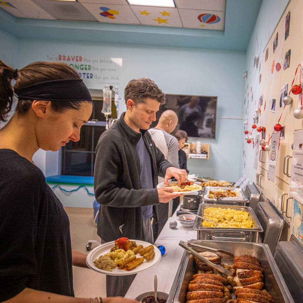 Local chef cooks up something special for sick children and their families at UCLA Medical Center, Santa Monica