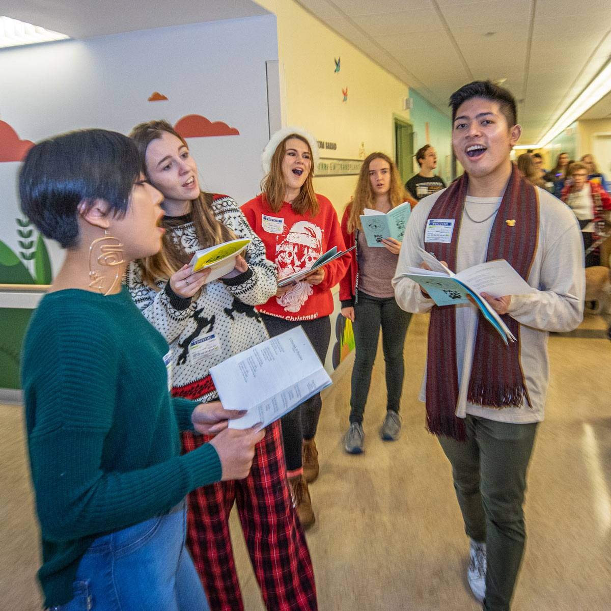 Transformative Time Singing Carols