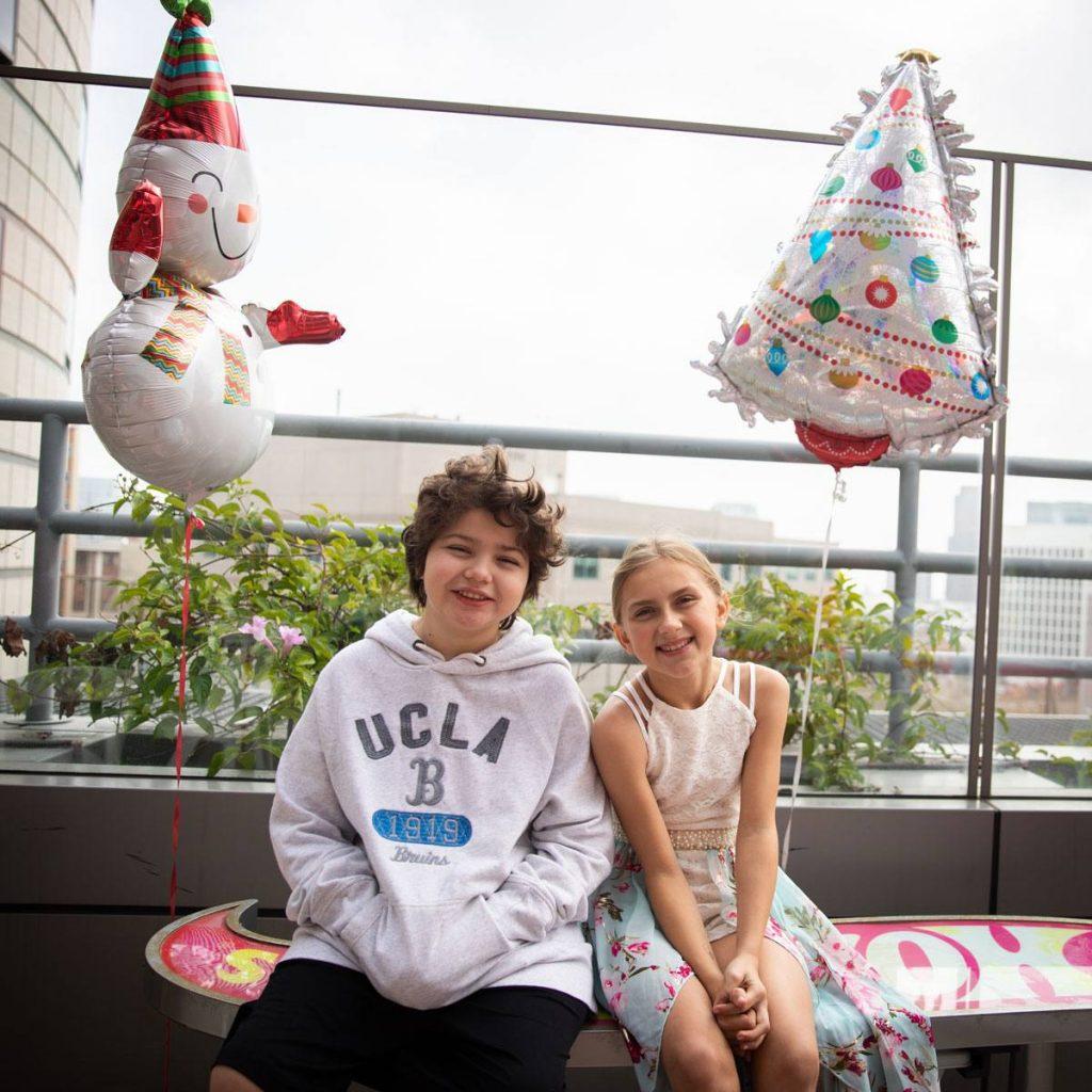 UCLA Mattel Children's Hospital patient with sister