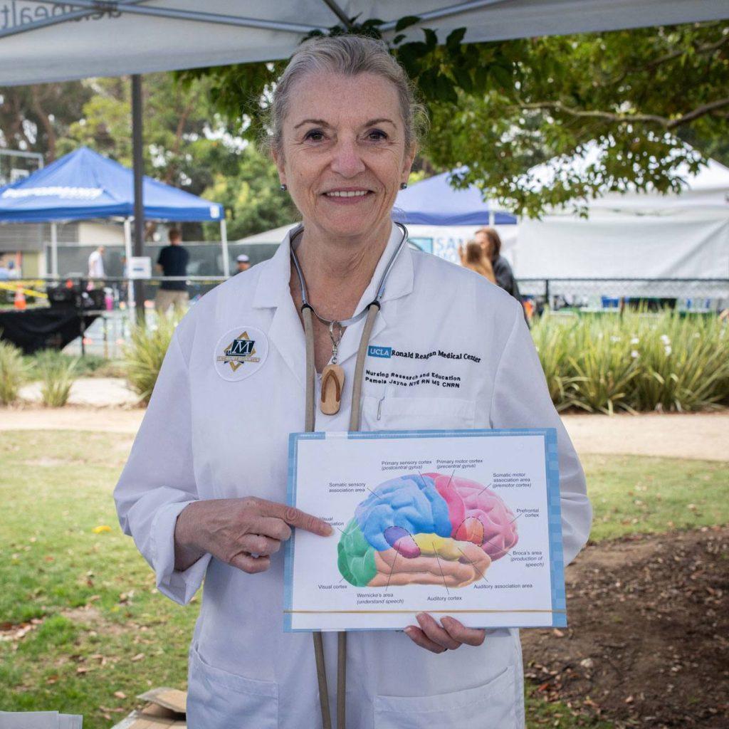 Pamela Nye, the stroke coordinator and clinical nurse specialist for neuroscience at UCLA Medical Center, Santa Monica