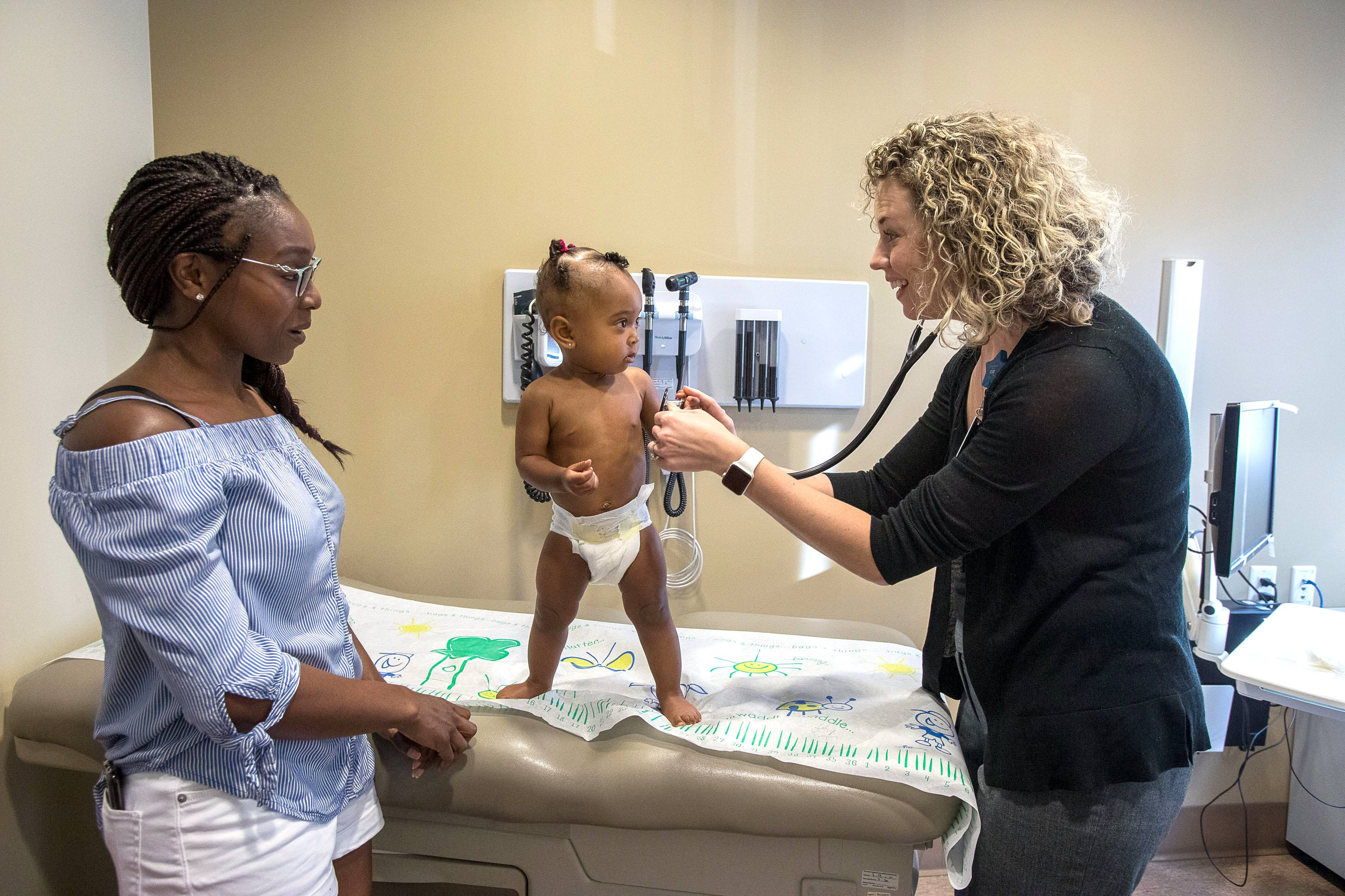 Coordinated care helped one infant thrive