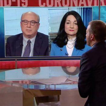 COVID-19: UCLA Health's Johnese Spisso on NBC's 'Meet the Press'