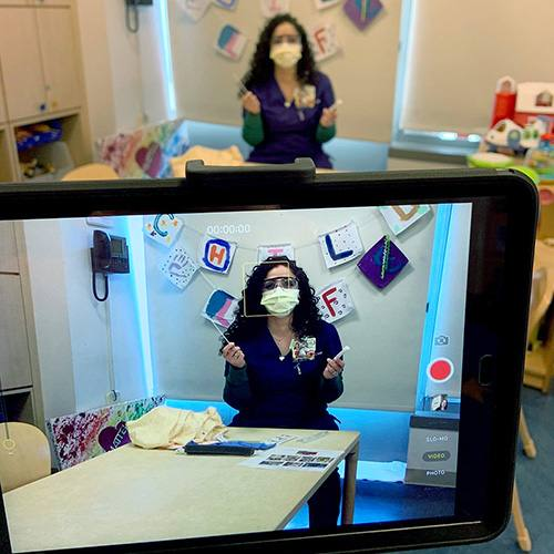 Child Life Specialists Begin Using Telemedicine to Reach Hospitalized Children During COVID-19
