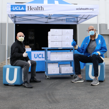 From the Basketball Court to the Hospital Room: Kareem Abdul-Jabbar Donates 900 Safety Goggles to UCLA Health