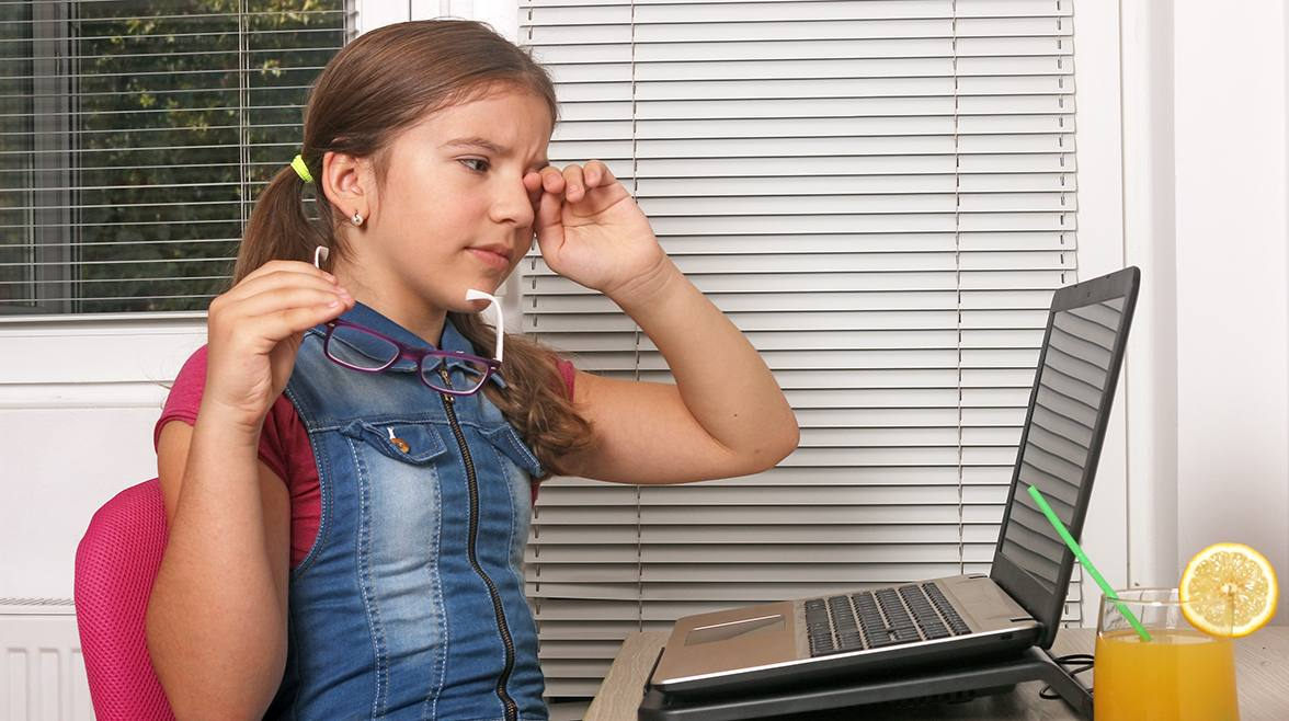 Remote schooling: Are your kids more susceptible to computer vision syndrome?