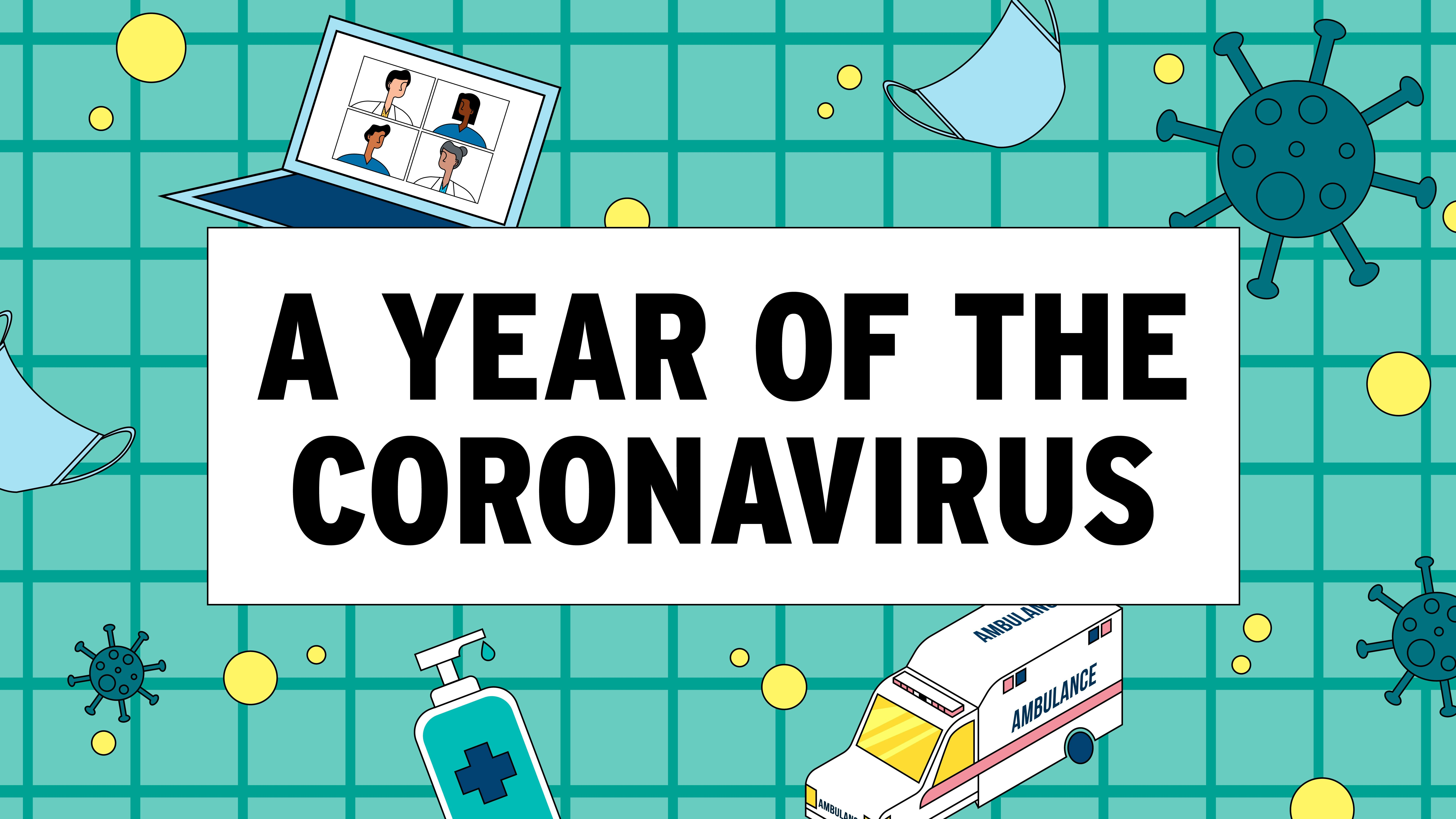 A year of the coronavirus: From a hint of something in China to full-blown global pandemic