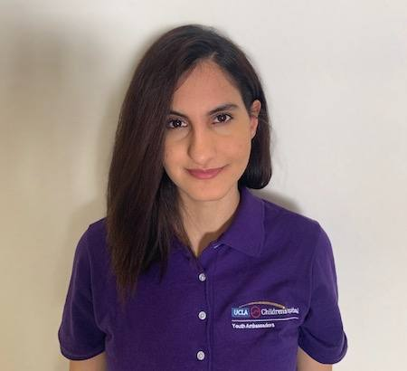 Nazanin Nayeri, founding member of the Mattel Youth Ambassadors