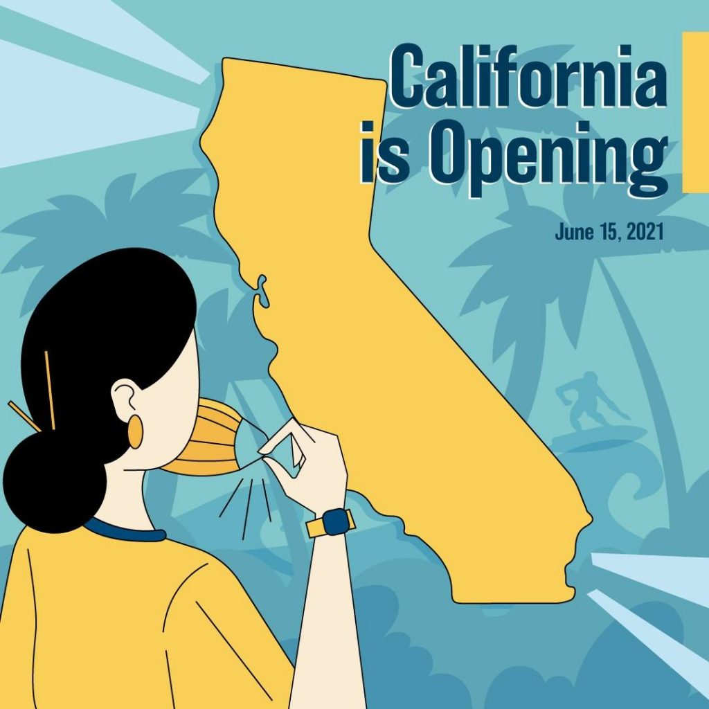 California prepares to reopen on June 15 fter COVID-19 pandemic closures.