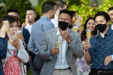 UCLA medical students celebrate graduation