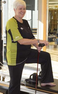 pilates golf woman