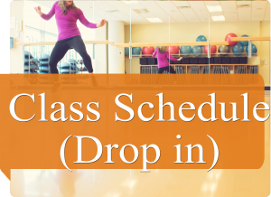 drop in class schedule icon