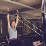 How do I start a Pilates practice at the Dan Abraham Healthy Living Center?