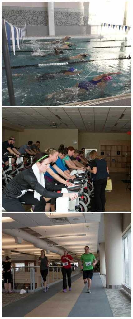 DAHLC's 3rd Annual Indoor Triathlon