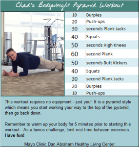 chads bodyweight pyramid workout