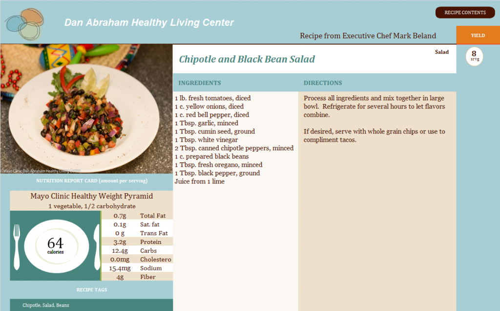 Chipotle and Black Bean Salad