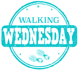 WALKING WEDNESDAY ICON