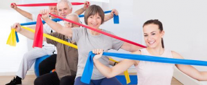 healthy band workout group