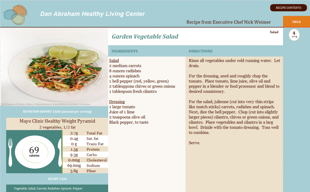 Garden Vegetable Salad