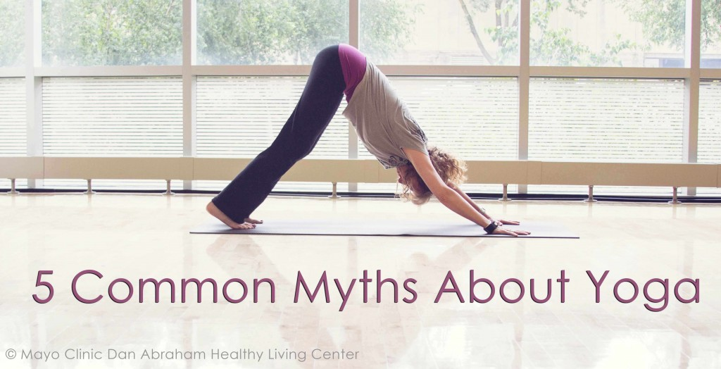 5 common myths about yoga