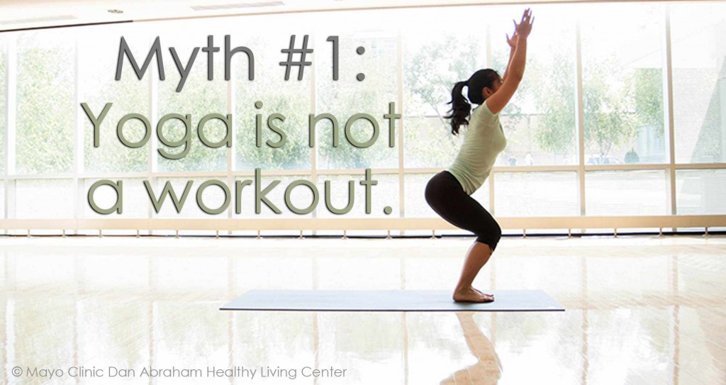Myth 1: yoga is not a workout