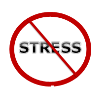 no stress symbol