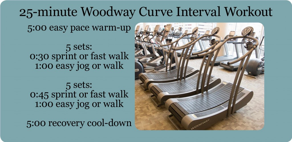 woodway curve