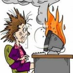 Cartoon_Woman_At_Work_with_Her_Computer_on_Fire_Royalty_Free_Clipart_Picture_090604-161121-837042[1]