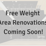 Free Weight Area Renovation